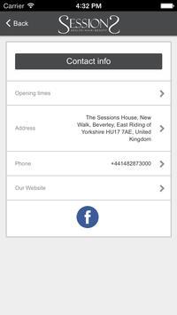 Sessions Spa Beverley apk screenshot