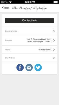 The Beauty of Weybridge apk screenshot