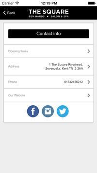 The Square Salon & Spa apk screenshot