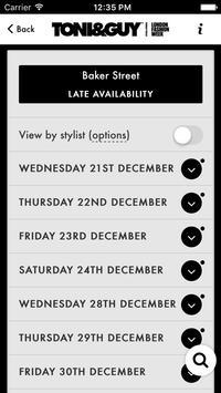 TONI&GUY UK Bookings apk screenshot