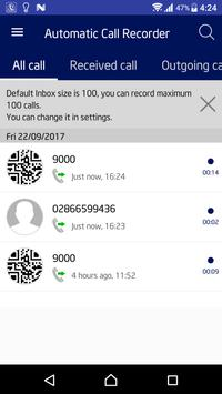 Automatic Call Recorder screenshot 1