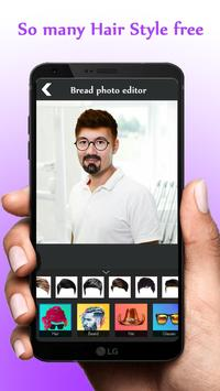 Beard Photo Editor - Hairstyle poster