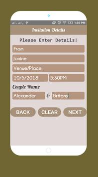 Invitation card maker invitation maker apk download free invitation card maker invitation maker apk screenshot stopboris Choice Image