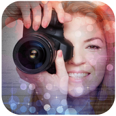 photo effects - bokeh effects icon