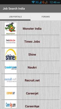 Job Search India poster