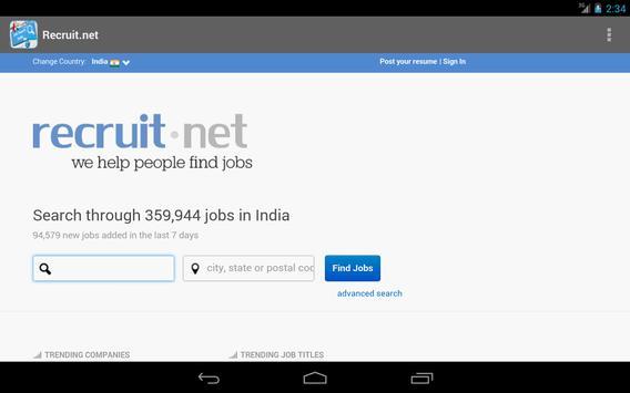 Job Search India apk screenshot