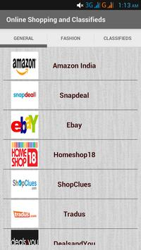 Online Shopping & Classifieds poster
