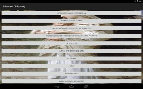 Christianity Science apk screenshot