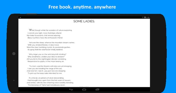 Romantic Poems screenshot 2