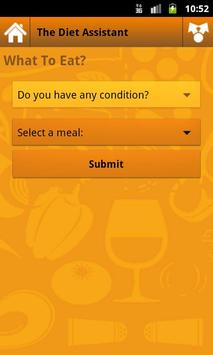 The Diet Assistant UG screenshot 1