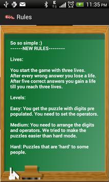 CountOn - BODMAS math puzzles screenshot 2