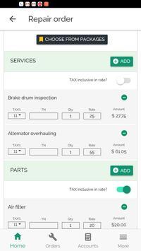 GaragePlug - Auto Workshop Software screenshot 2