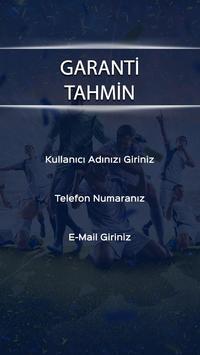 Garanti Tahmin poster