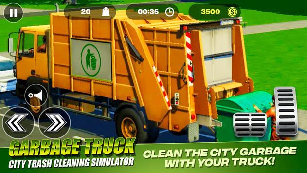 Garbage Truck - City Trash Cleaning Simulator 截圖 8