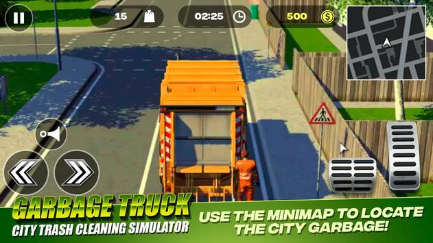 Garbage Truck - City Trash Cleaning Simulator 海報
