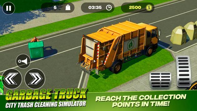 Garbage Truck - City Trash Cleaning Simulator 截圖 1