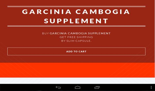 Garcinia Cambogia Supplement apk screenshot