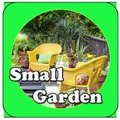 small garden design idea icon