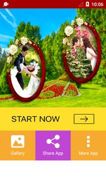 Garden Dual Photo Frames poster