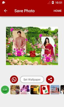 Garden Dual Photo Frames apk screenshot