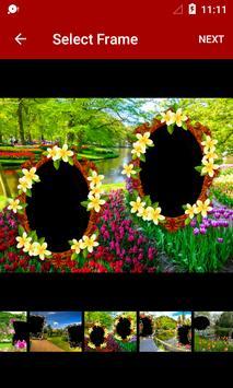 Garden Dual Photo Frames screenshot 1