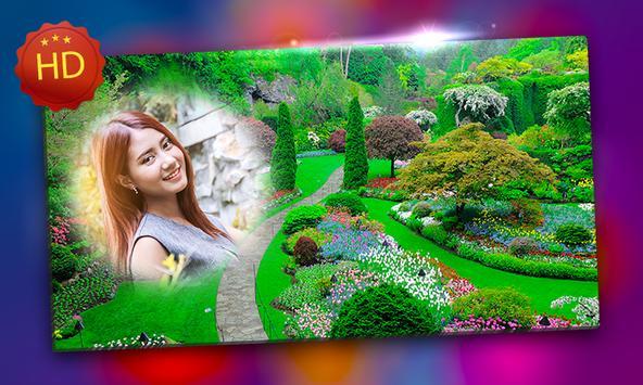 Garden Photo Frames apk screenshot
