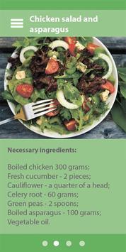 high protein diet poster