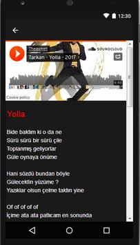 Tarkan (Music + Lyrics) apk screenshot