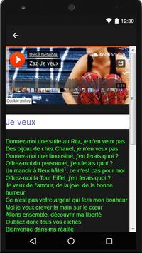 Zaz (Music + Lyrics) screenshot 2