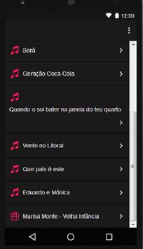 Legião Urbana ( Music + Lyric ) screenshot 1