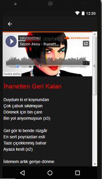 Sezen Aksu (Music + Lyrics) screenshot 2