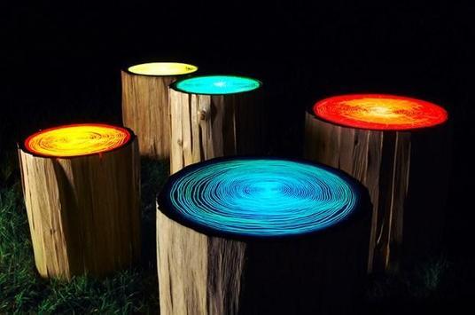 Garden Lamp Unique poster