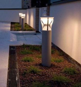 garden lighting ideas poster