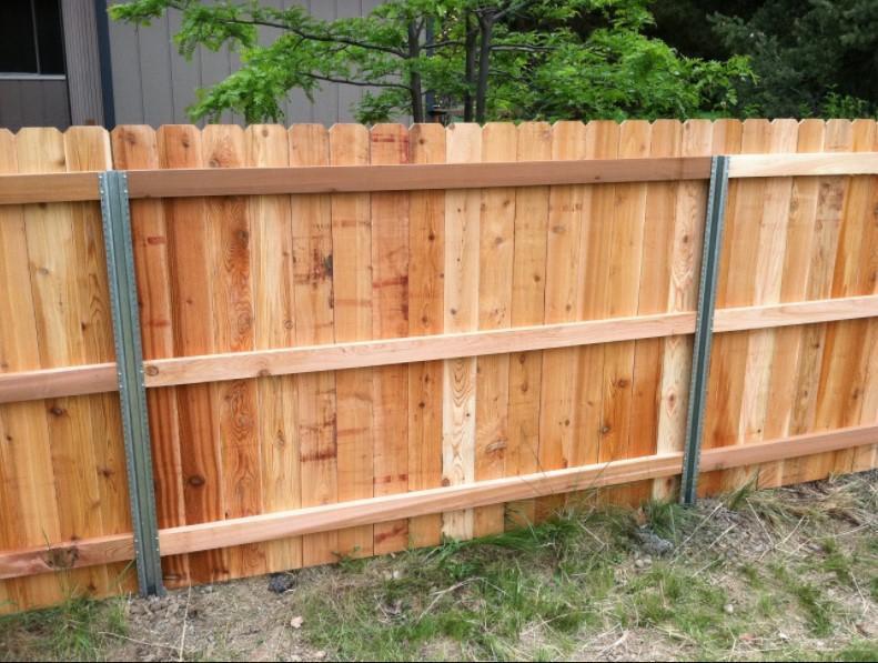 garden fence   pallets