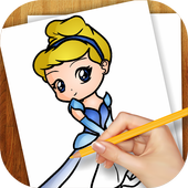Install Game Family android Learn To Draw Princess, Queens gratis