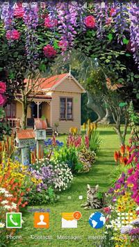 Garden Live Wallpaper poster