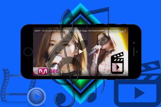 Bae Suzy top & video poster