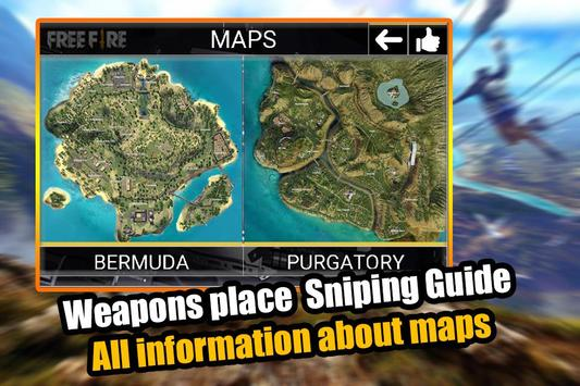 Free Fire - Survival Battleground Guide & Tips screenshot 1