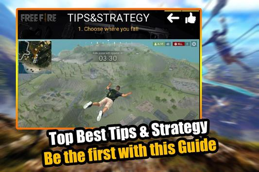 Free Fire - Survival Battleground Guide & Tips screenshot 2