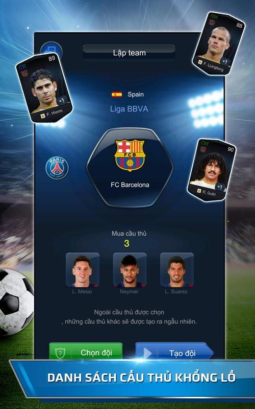 ... FIFA Online 3 M ảnh chụp màn hình 6 ...