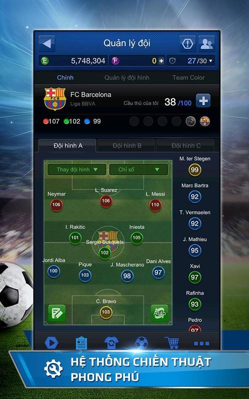... FIFA Online 3 M ảnh chụp màn hình 8 ...