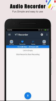 Yt Voice Recorder poster