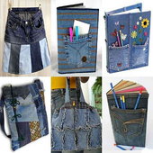 DIY and Recycle Jeans icon