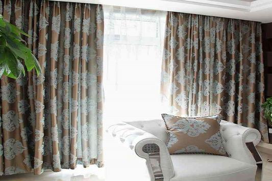 Window Curtain Design poster