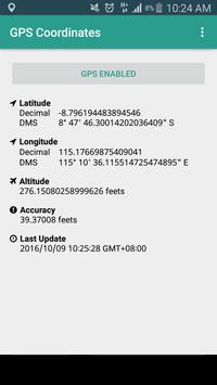GPS Coordinates - NO INTERNET! screenshot 2