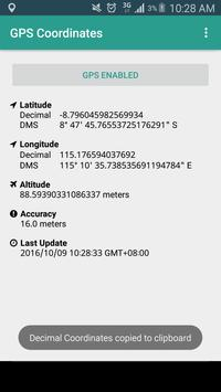 GPS Coordinates - NO INTERNET! screenshot 3