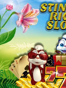 Stinkin Pew Rich Slot Machine poster