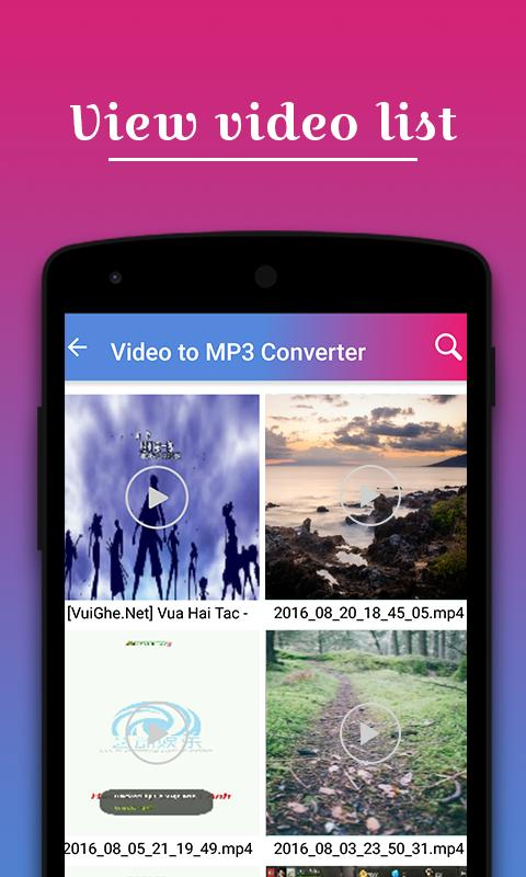 how to use video to mp3 converter app