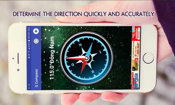 Compass - Direction Compass 🗺 apk screenshot