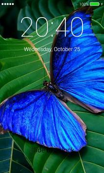 Butterfly Lock Screen Pro apk screenshot